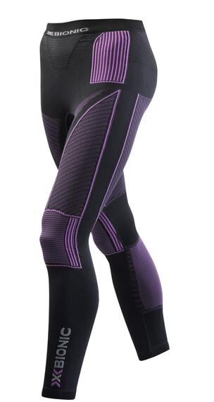 X-Bionic Accumulator Evo Long Pants Ladies Charcoal/Fuchsia